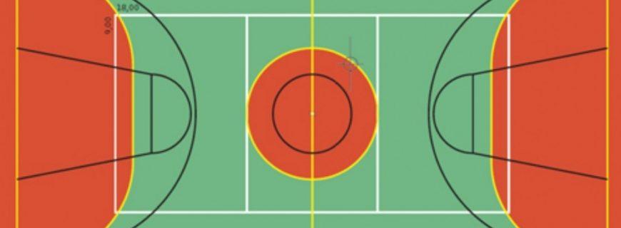 Tamanhos e medidas das Quadras Esportivas
