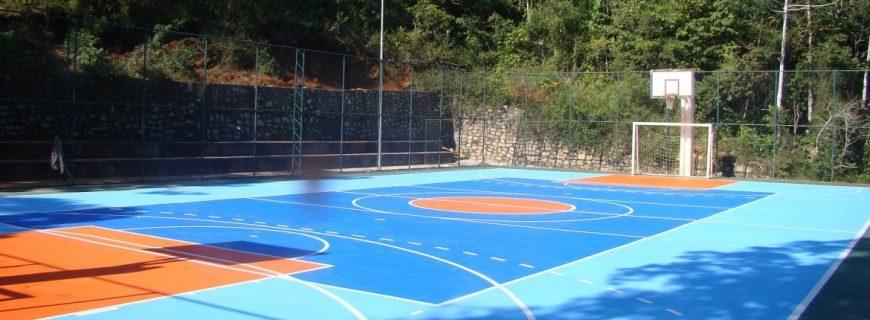 Cuidados na instalação de uma quadra esportiva externa